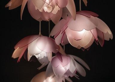 LIGHTART BOTANICAL Series Cherry Blossom Pendant web 4 jpg