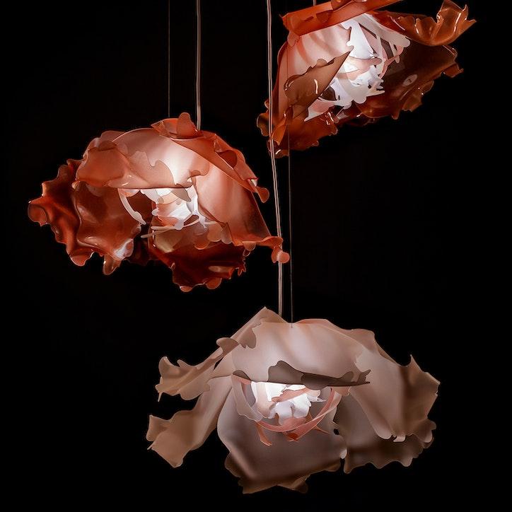 LIGHTART BOTANICAL series rhododendron pendant web jpg