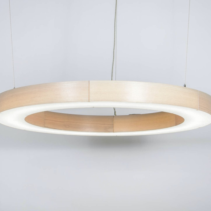 3form lightart loop light fixture drum