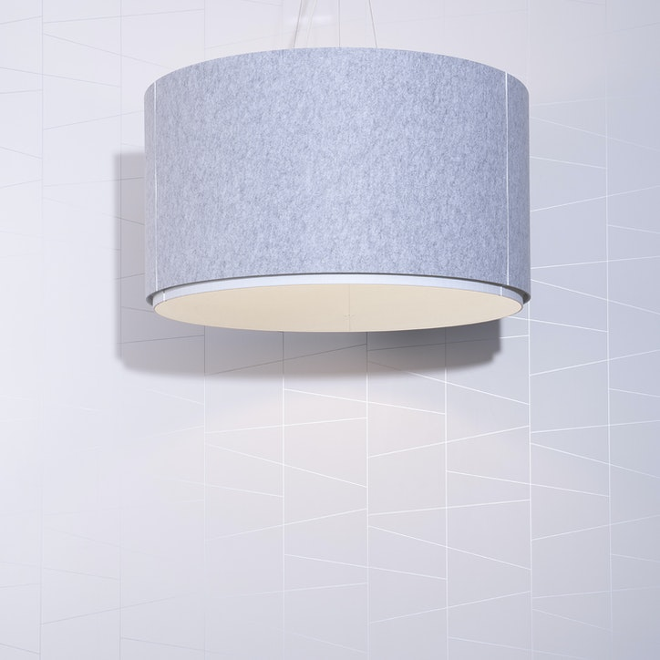 LIGHTART ACOUSTIC SHADE DRUM FELT 2web