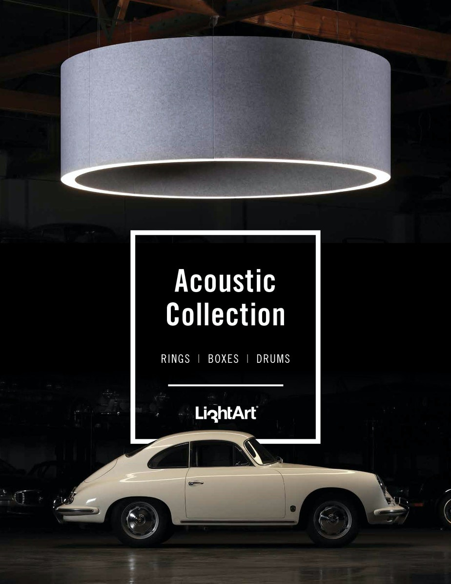Light Art Acoustic Ring Drum Box cover