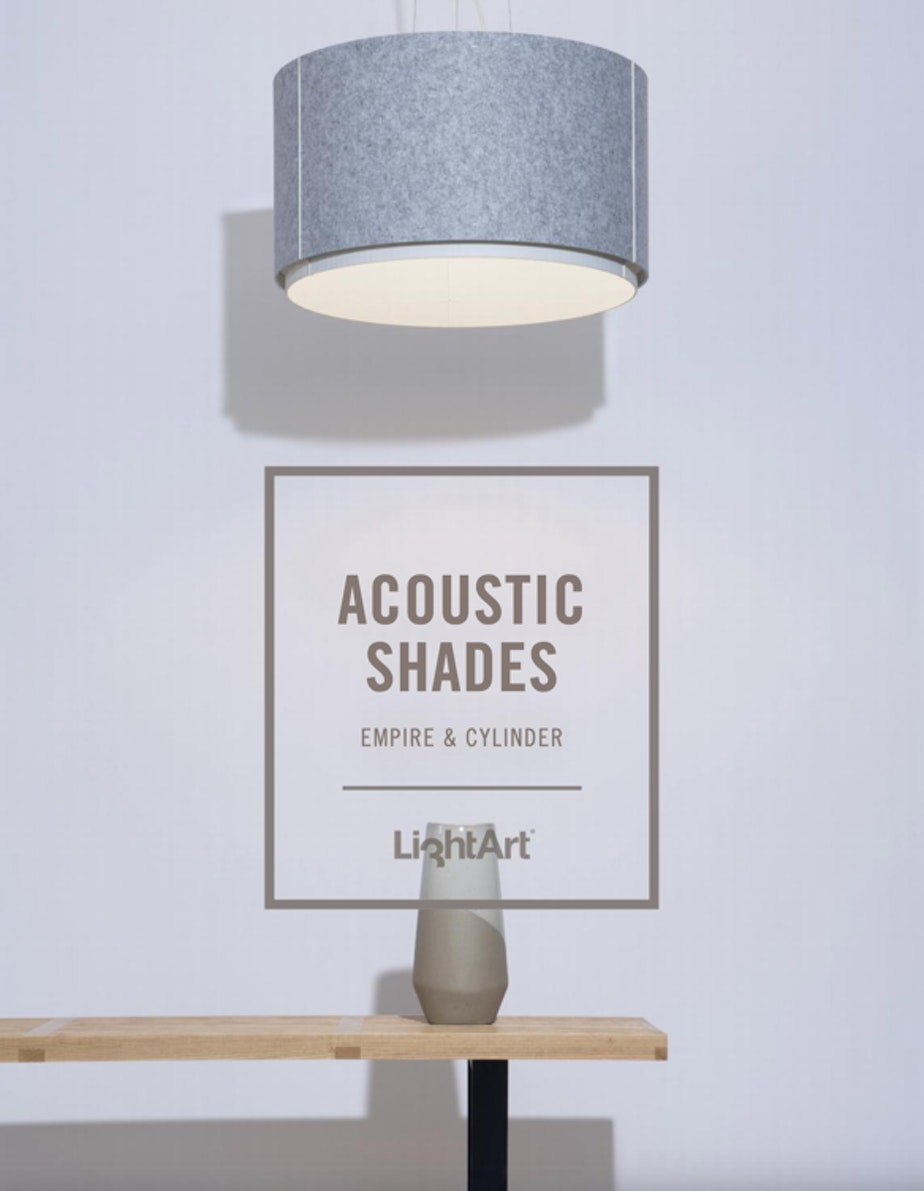 Lightart Empire Cylinder shade cover cropped