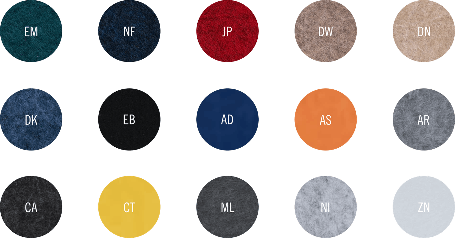 Color swatches updated 5 17 21